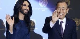Sekretarz generalny ONZ o Conchicie Wurst: jest gwiazdą świata!