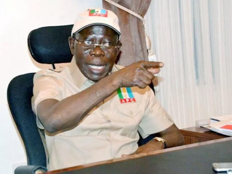 Adams Oshiomhole wants a senate that is in tune with the policies of the executive (ThisDay)