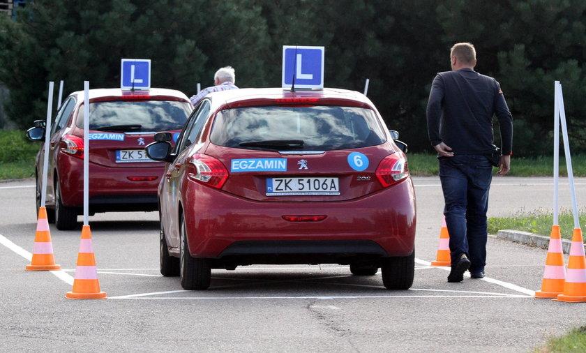 Egzamin na prawo jazdy w Szczecinku