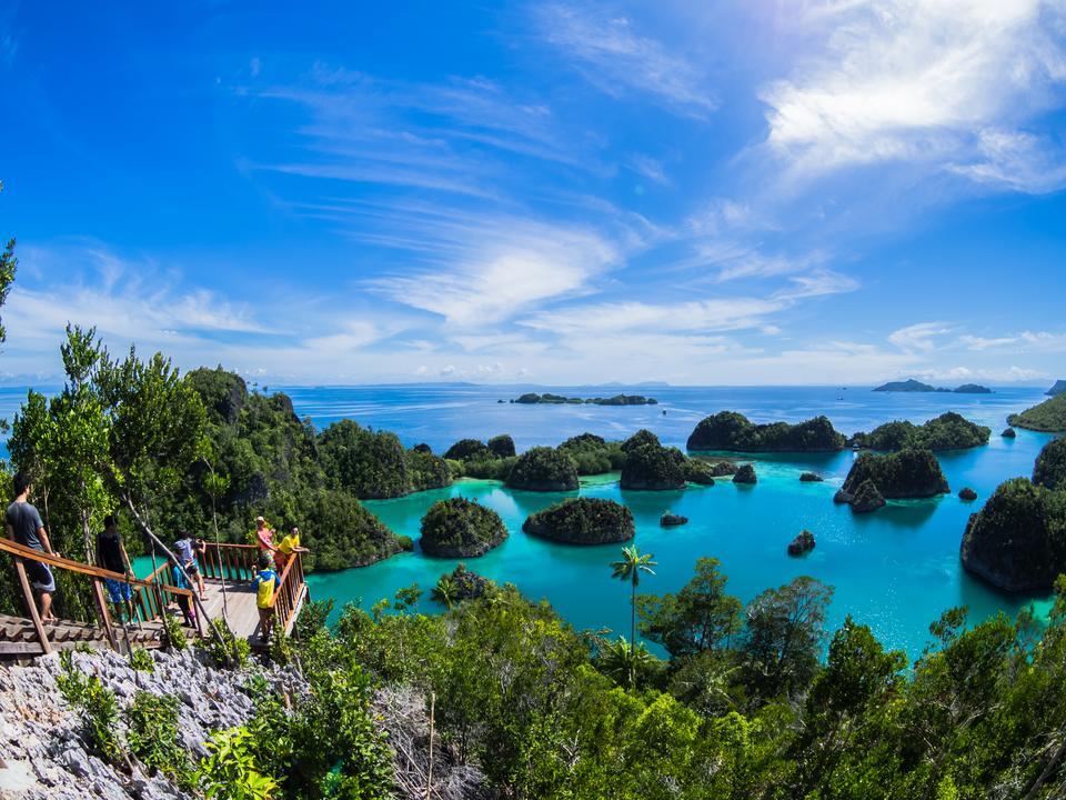 Wyspy Raja Ampat, Indonezja