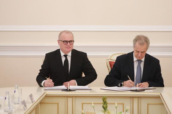 Potpisivanje Protokola o saradnji dva grada