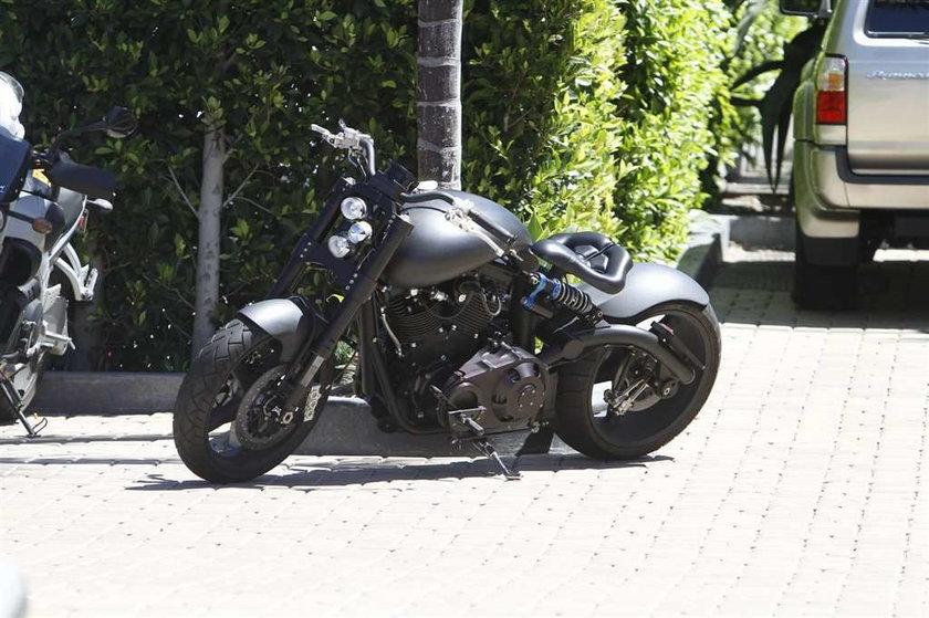 Beckham na super motorze