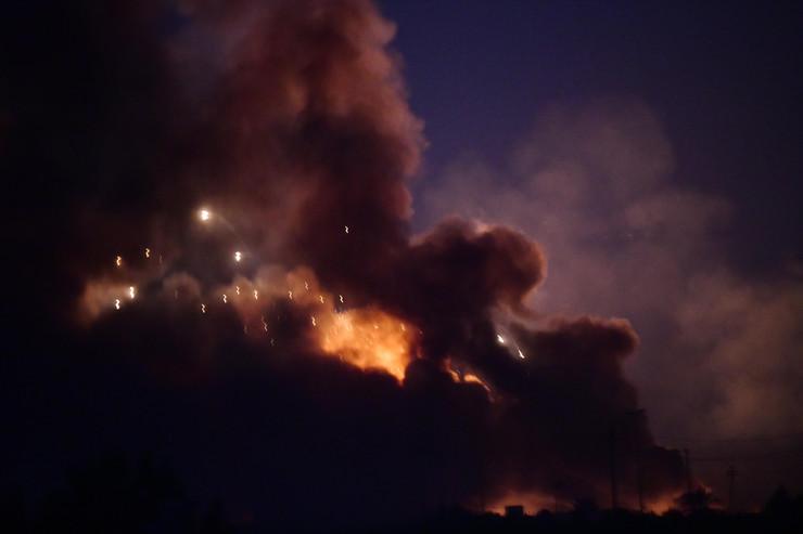 Eksplozija, skladište municije, Irak