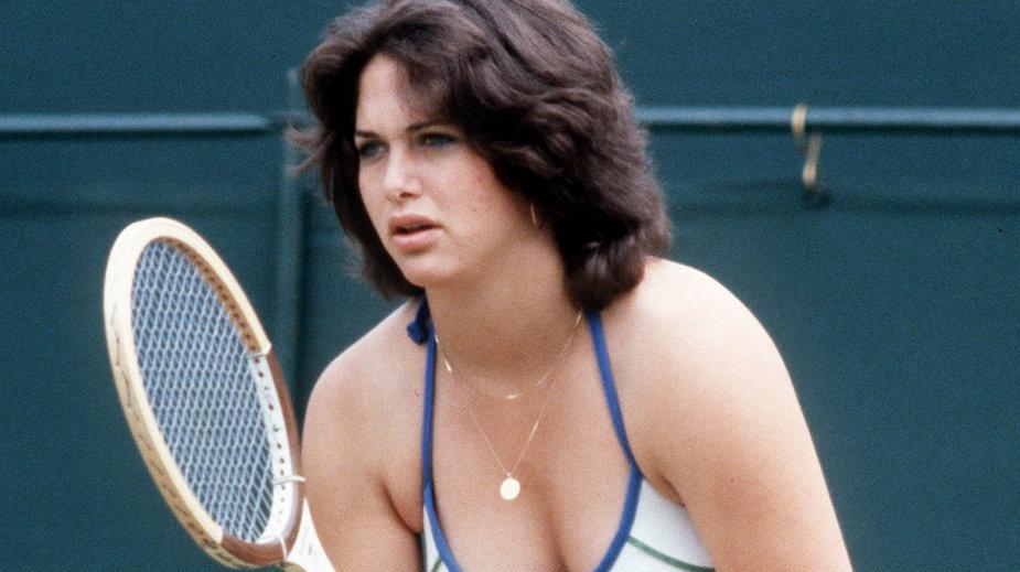 Linda Siegel na Wimbledonie w 1979 r.