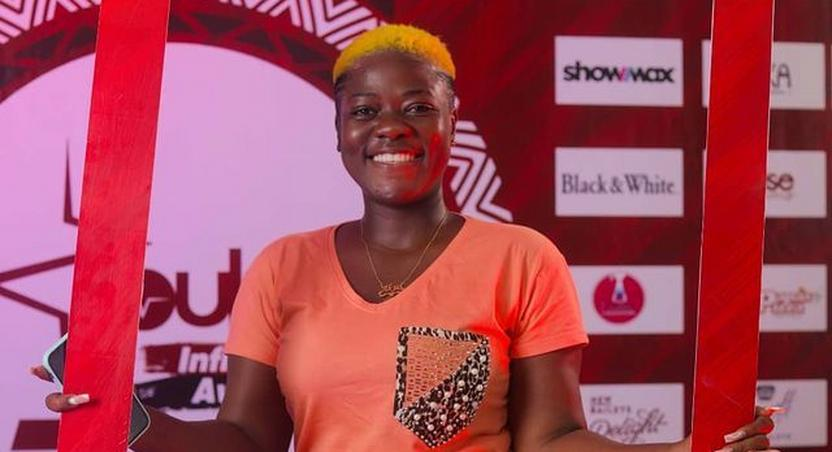 """Asantewaa crowned """"TikTok Influencer of the Year at Pulse Influencer Awards 2021"""