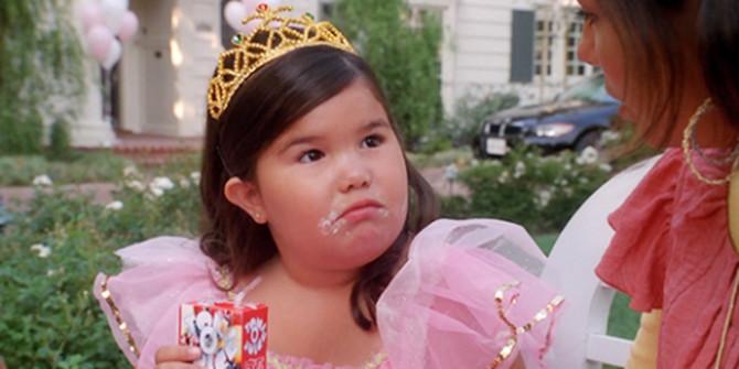 Huanita je porasla i više nije ni nalik ovoj razmaženoj devojčici
