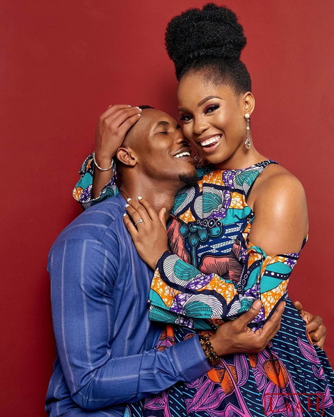 She is the wife to former reality TV star turned actor, Gideon Okeke. [Instagram/TheDeraDear]