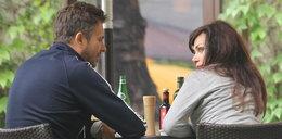 Ewa i Marek Bukowscy na obiedzie