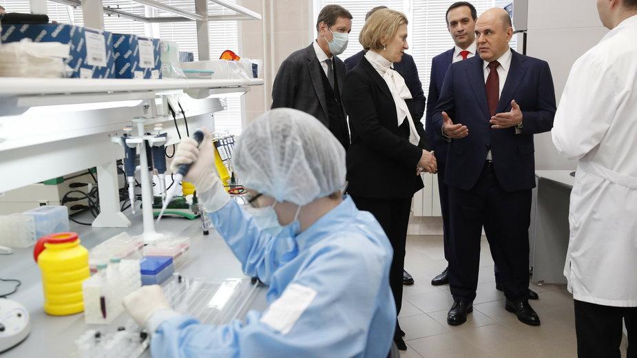 Rosyjskie laboratorium w Nowosybirsku