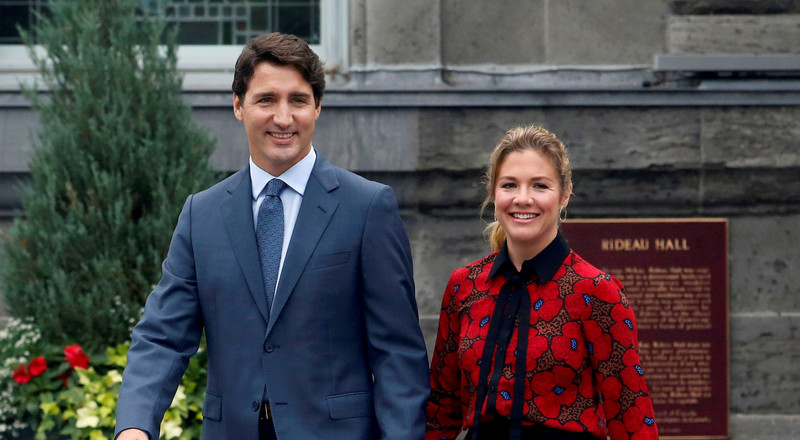Sophie Grégoire Trudeau tested positive for the coronavirus after a massive event in London where she posed for pictures with Idris Elba and Lewis Hamilton