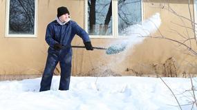 Silne opady śniegu. Ofiara mrozu