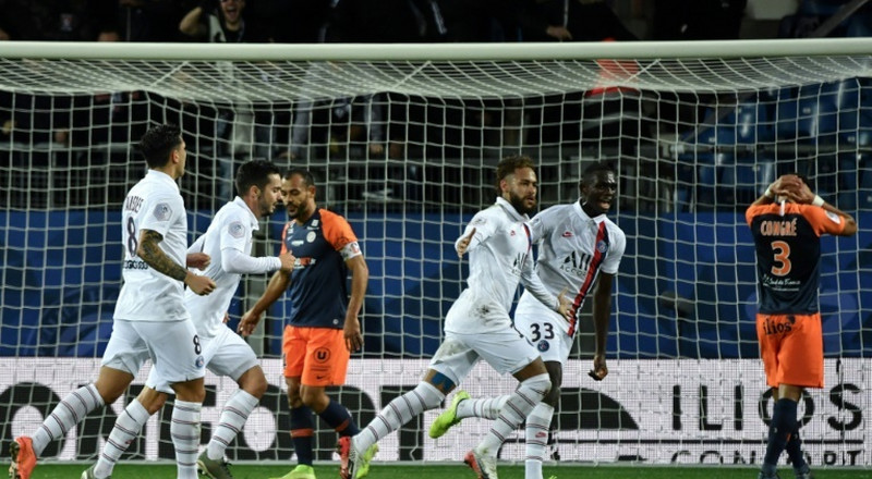 Neymar inspires PSG to comeback win at Montpellier