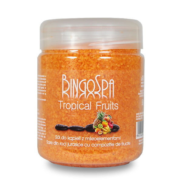 "Sól do kąpieli z mikroelementami ""Tropical Fruits"" BingoSpa"