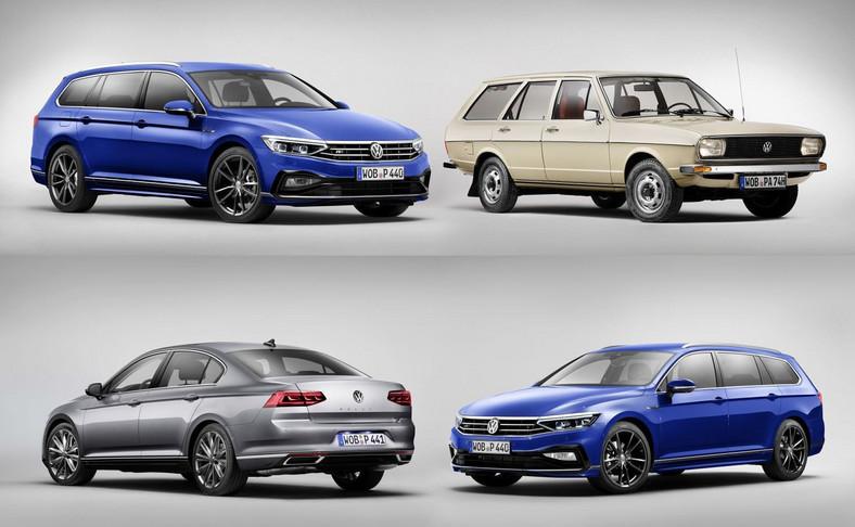 Volkswagen Passat w nowej odsłonie i model pierwszej generacji