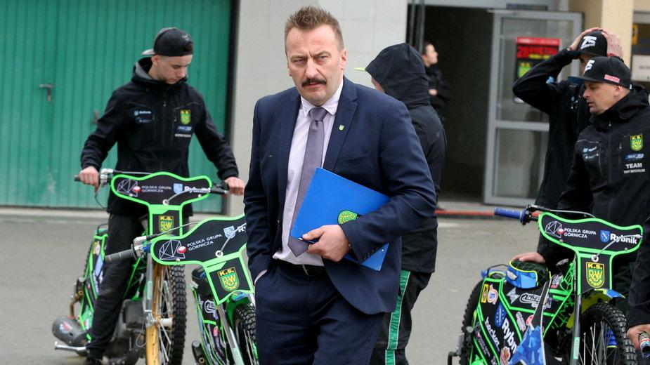 Krzysztof Mrozek - prezes PGG ROW Rybnik