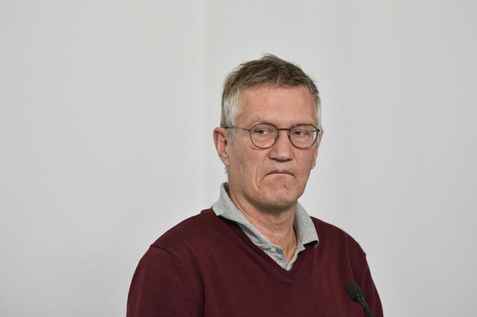 Anders Tegnel na konferenciji