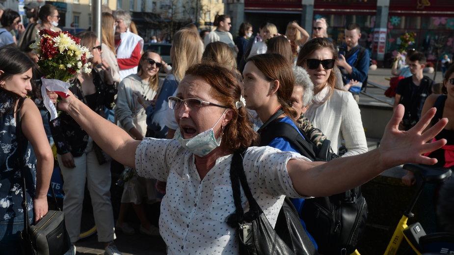 Kolejne protesty na Białorusi