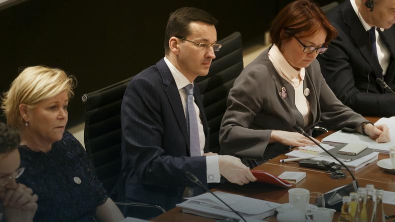 Wicepremier Mateusz Morawiecki na szczycie G20