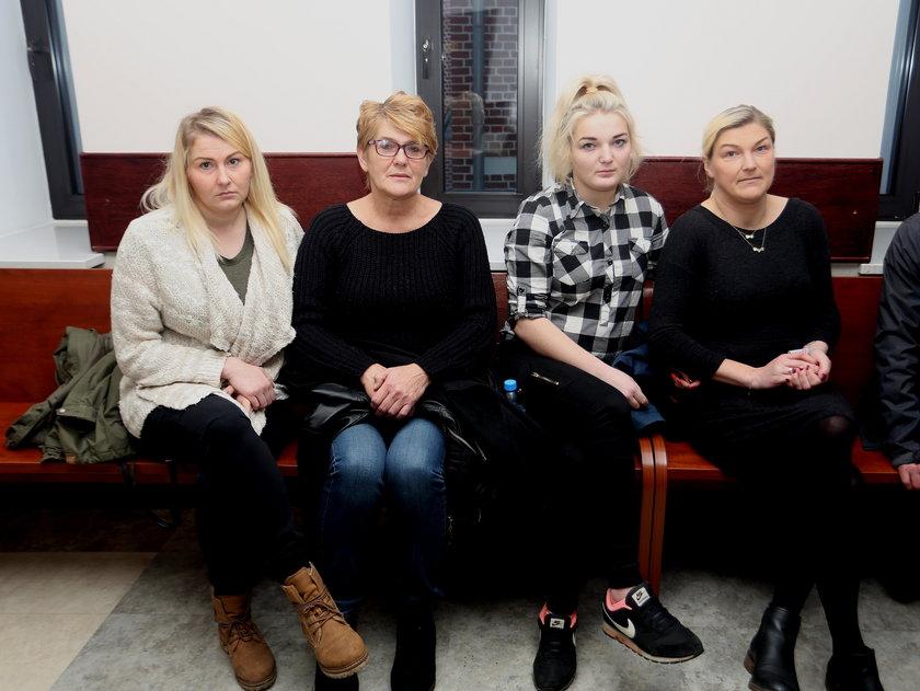 Poszkodowana rodzina w sądzie
