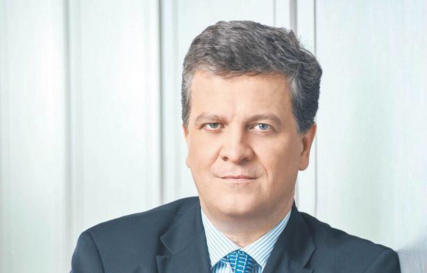 Jan Emeryk Rościszewski, prezes PKO BP fot. FOTOTAXI.PL/mat. prasowe