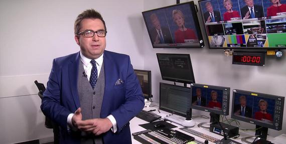 """""""Subiektywny"""" - wydanie specjalne: Bartosz Węglarczyk o debacie Clinton - Trump"""