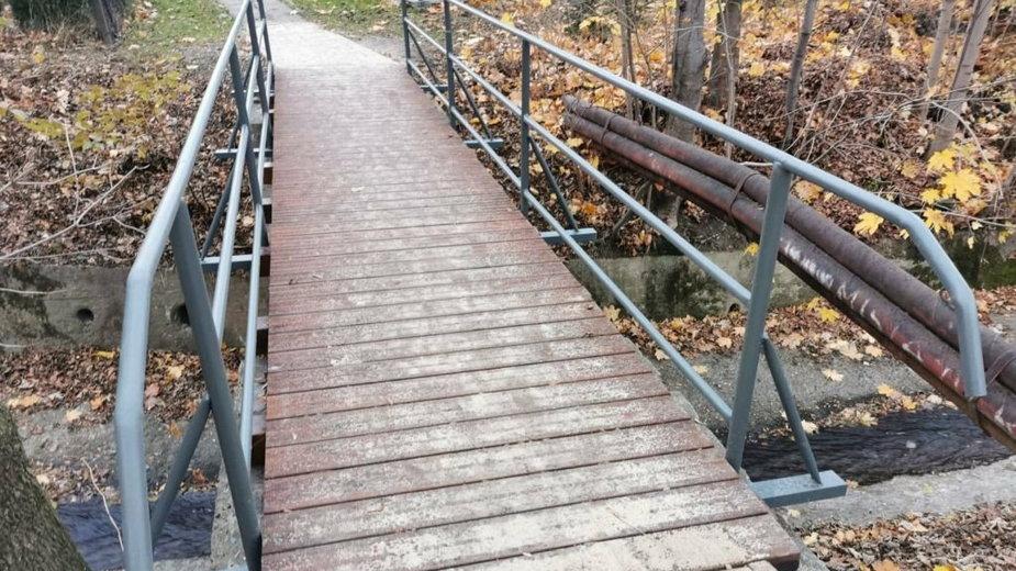 Trwają remonty kładek i mostków