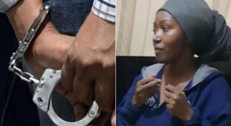 Notorious Nairobi drug dealer Hillary Wanjiku Wachira, JKUAT girlfriend Caroline Nyambura Gituma arrested