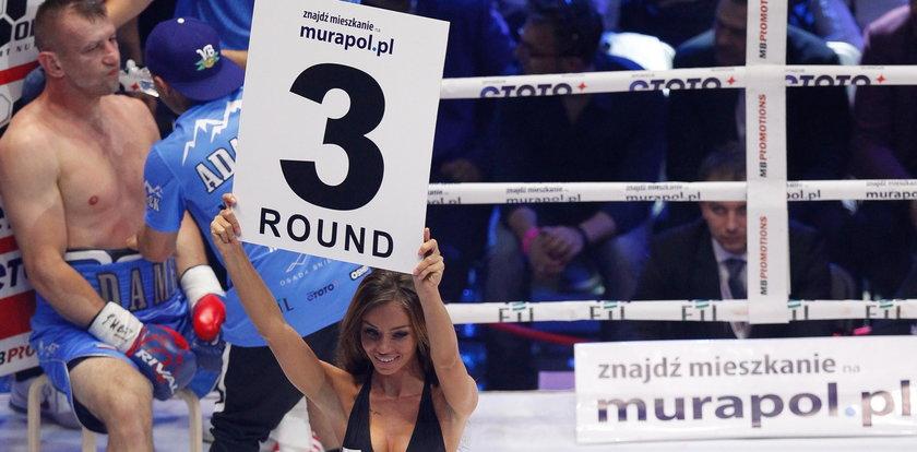 Piękność, która skradła show na Polsat Boxing Night