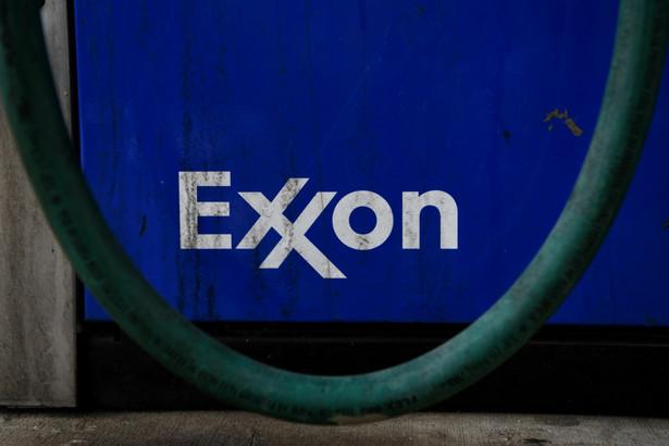 Exxon Mobil Corp. gas station in Houston, Texas