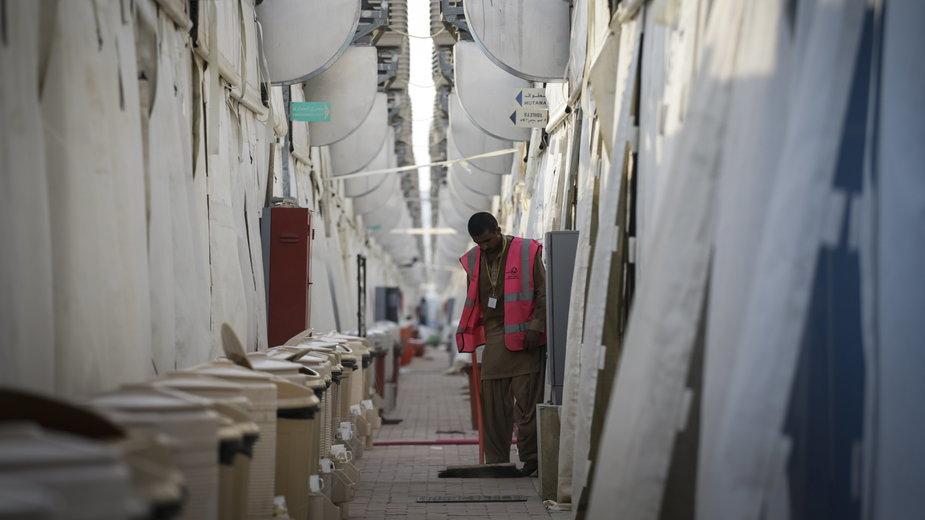 Zagraniczny pracownik w Arabii Saudyjskiej
