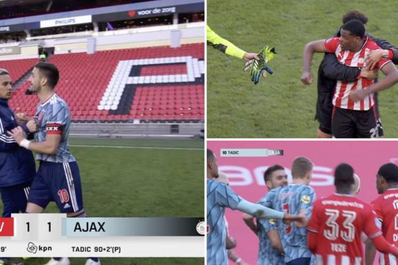 """""""To Srbima nikada ne smete da radite, ali NIKADA!"""" Dušan Tadić posle velikog skandala u Holandiji do detalja opisao kako je počeo sukob sa fudbalerom PSV-a"""