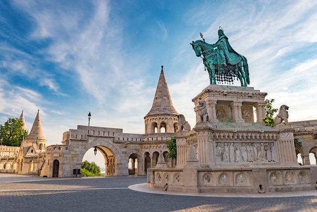 Baszta Rybacka i pomnik króla Stefana I, Budapeszt