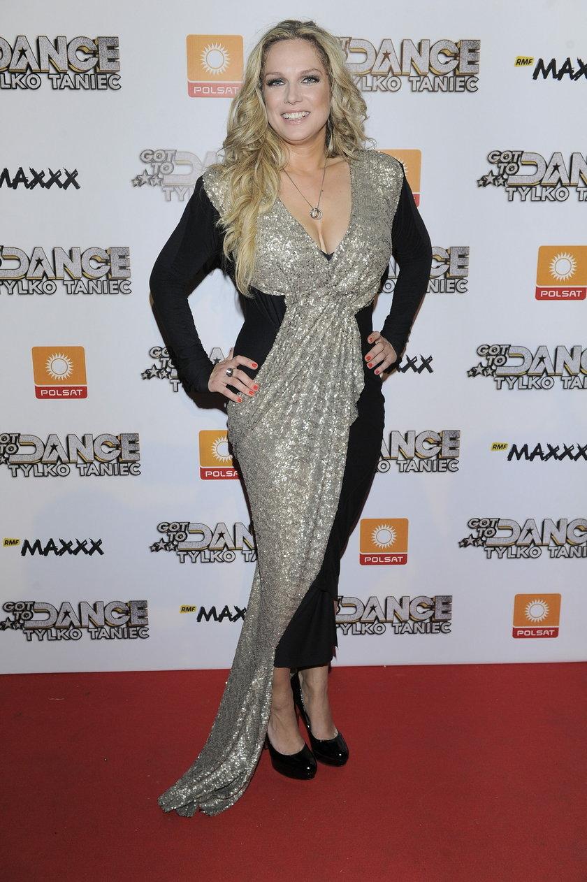 Joanna Liszowska w pięknej sukni