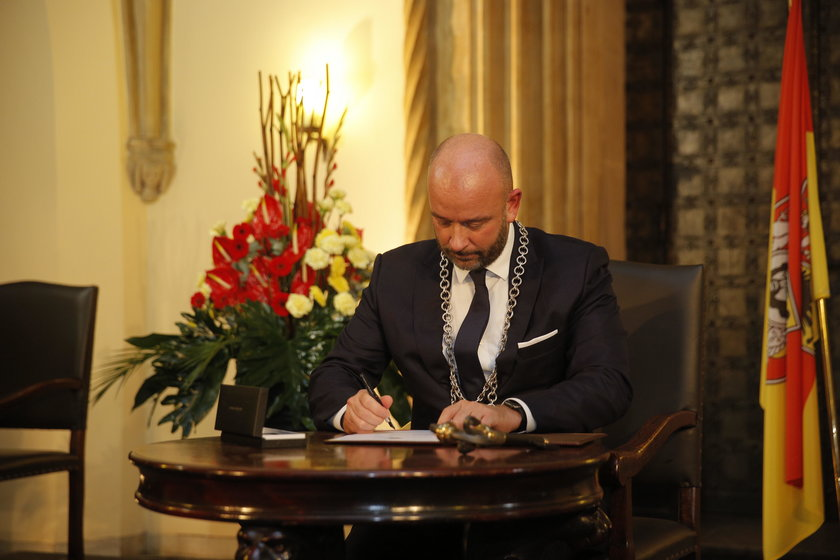 Jacek Sutryk prezydentem