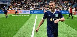 Lukas Podolski trafił do szpitala. Miał groźnego wirusa