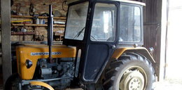 Próbował uciec traktorem z miejsca kolizji