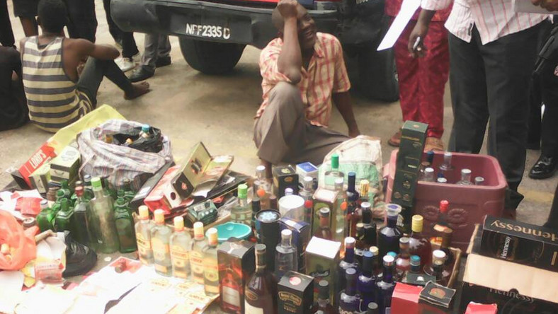 Police arrest manufacturer of fake wines, whiskeys/Illustrative use only (The Nation Newspaper)