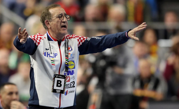 Lino Červar na meču sa Nemačkom