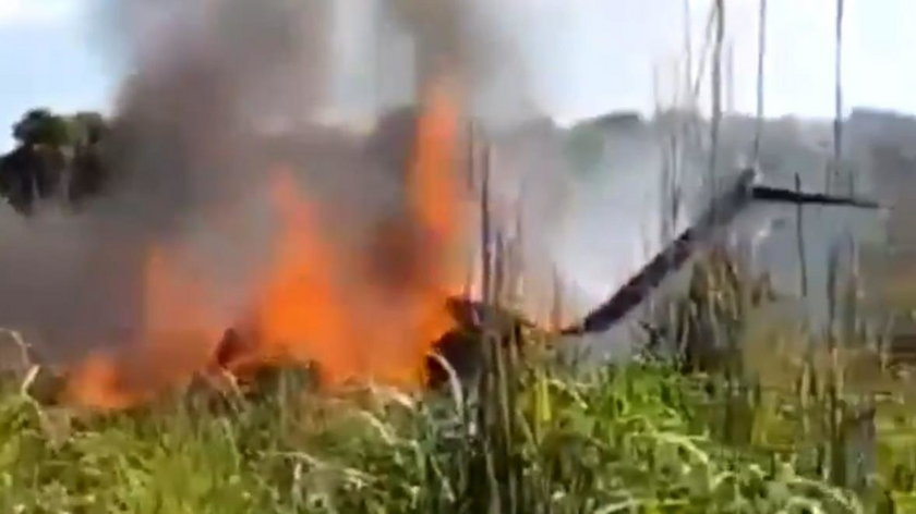 Katastrofa samolotu wBrazylii