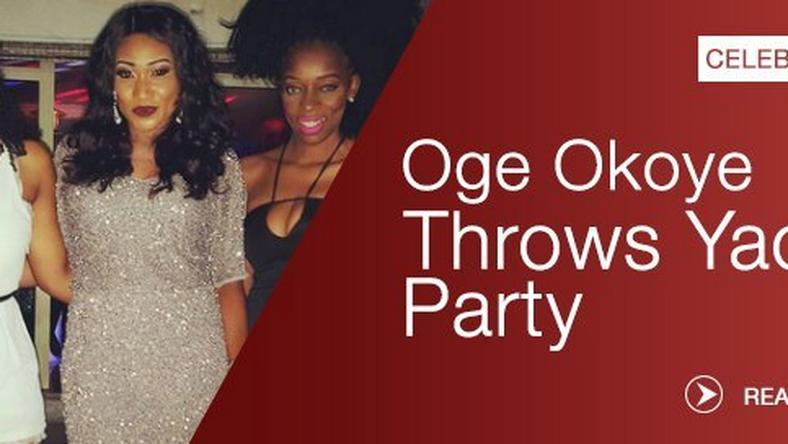 Oge Okoye Actress Throws Yacht Party To Celebrate Birthday Pulse