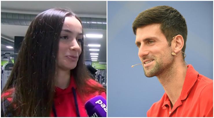 Novak Đoković i Fatma Idrizović