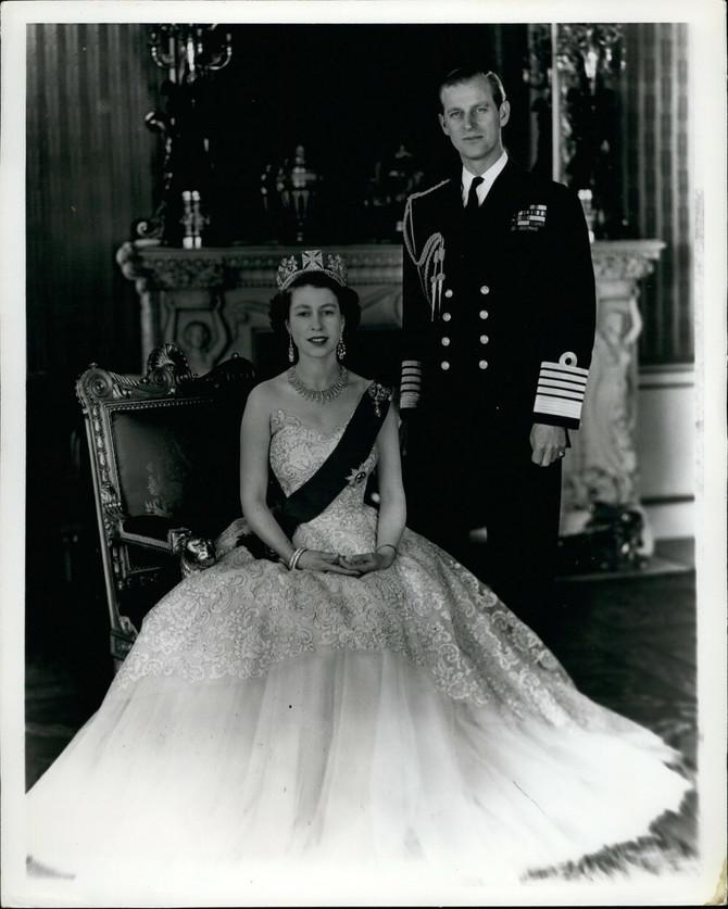 Krqaljica Elizabeta sa suprugom