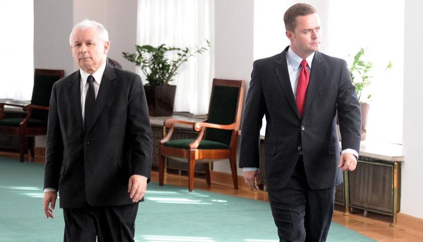Kaczyński przywrócił Hofmana