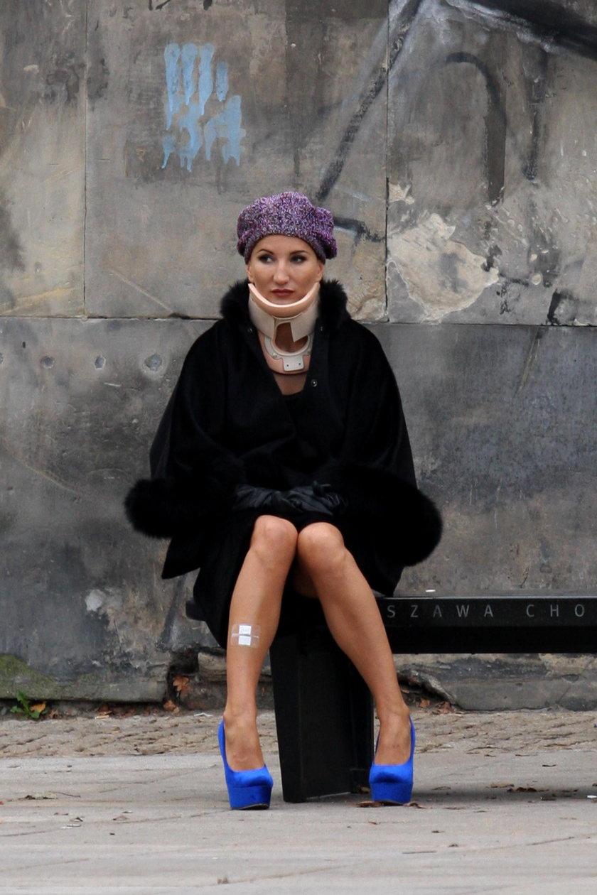 Justyna Steczkowska po wypadku