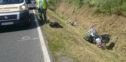 Tragedia na drodze. Motocyklista zabił pieszą