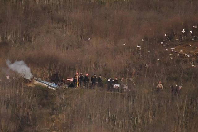 Mesto pada helikoptera u kome je poginuo i Kobi Brajant