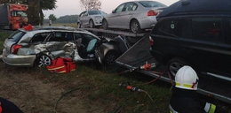 Wypadek pod Opocznem. Trzy osoby nie żyją