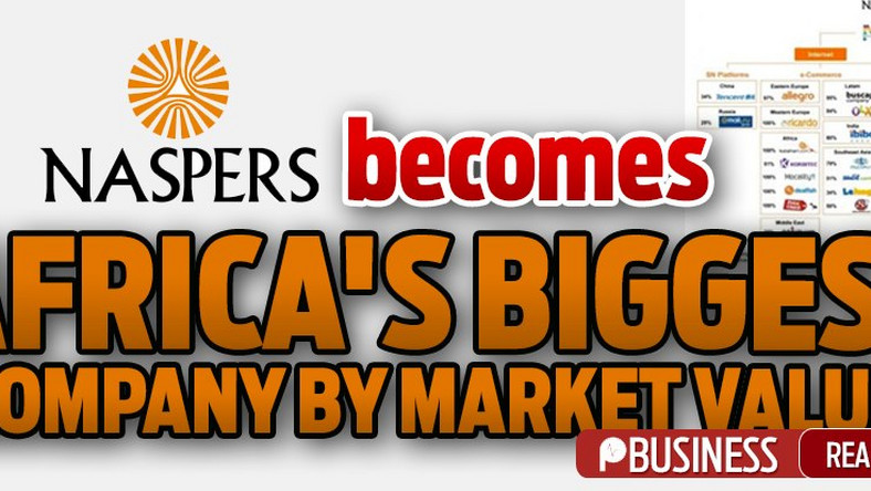 Investment Naspers becomes Africa's biggest company by