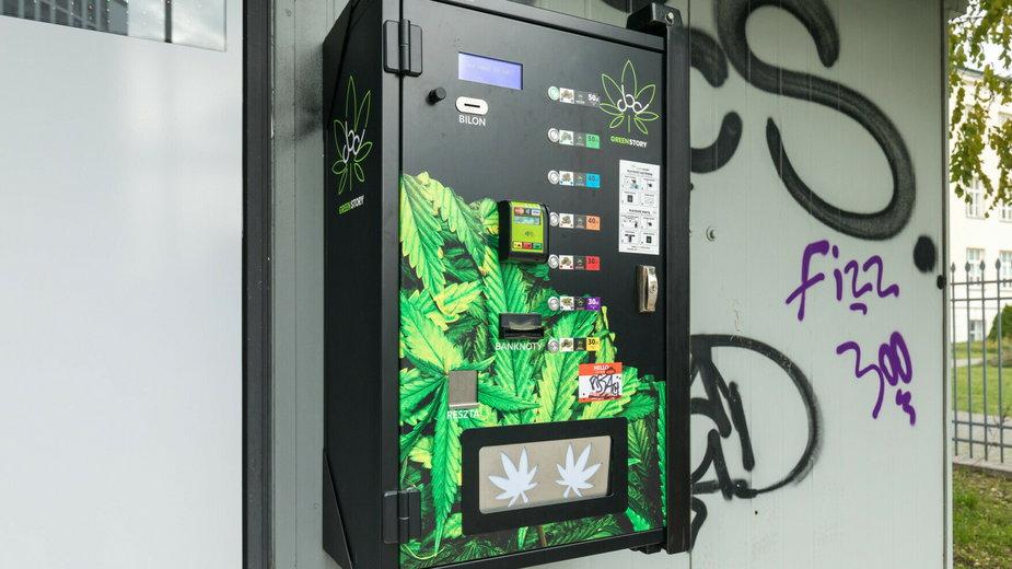 Automaty CBD można spotkać w małych i dużych miastach