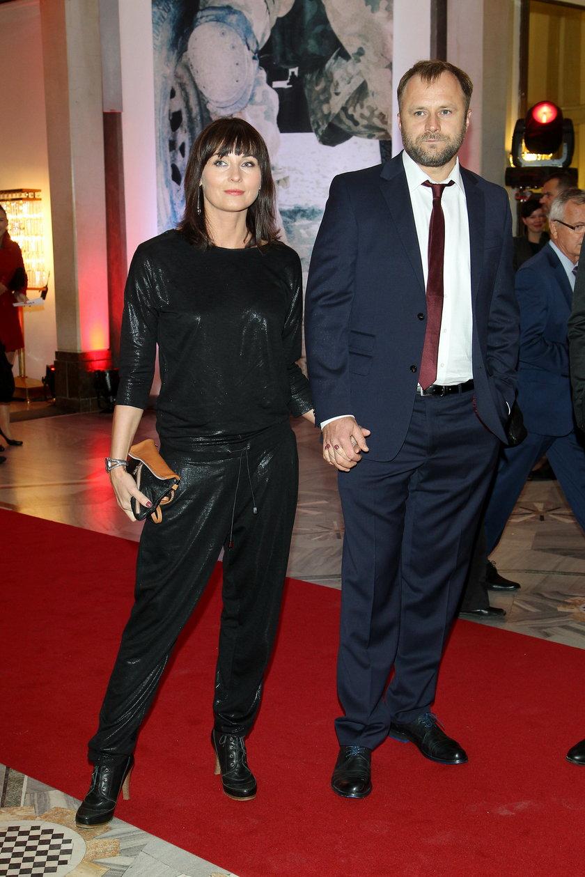 Ilona Wrońska i Leszek Lichota